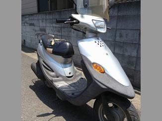 東京都練馬区西大泉5丁目で無料で廃車したヤマハ BJ スクリーン付き シルバー色