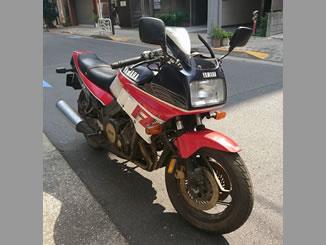 東京都江東区東陽2丁目で無料で引き取りをしたヤマハ FZ750 黒・白・赤