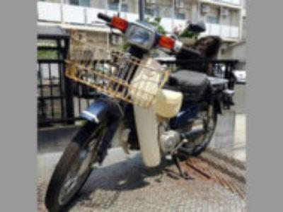 豊島区長崎4丁目のホンダ スーパーカブ70 カスタム コスミックブルーを無料で引き取り処分