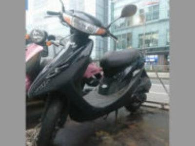 東京都中央区八重洲1丁目でホンダ ライブDio ブラックを無料で引き取り処分