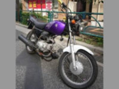 新宿区戸山2丁目のスズキ GS50 パープル(事故車)を無料で引き取り