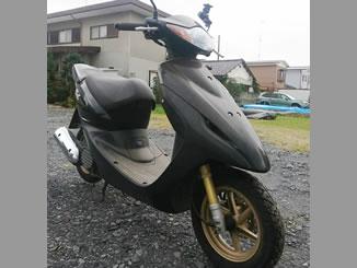 栃木市柳橋町で無料で引き取りと廃車をしたホンダ Dio Z4 ブラック