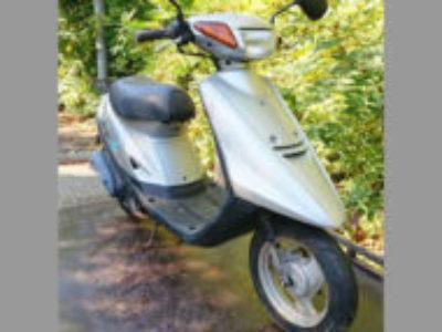 川口市安行原で原付バイクのヤマハ JOG(CY50) シルバーを無料で引き取り処分