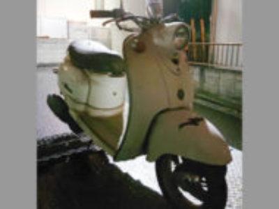 船橋市印内町でヤマハ ビーノクラシック ラジカルホワイトを無料で引き取り処分