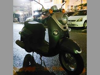 千葉県市川市二俣1丁目で無料で引き取りと廃車をしたヤマハ ビーノ4サイクル ブラック