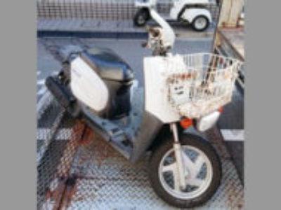 杉並区南荻窪1丁目でヤマハ ギア/BX50N ホワイトを無料で引き取り処分