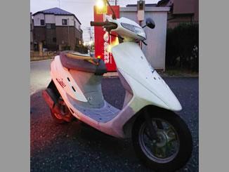 埼玉県越谷市蒲生で無料で引き取りと廃車をしたホンダ スーパーDio ホワイト