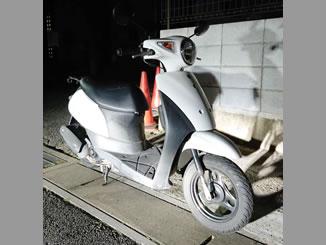 千葉県市川市宮久保3丁目で無料で引き取りと廃車をしたスズキ Let's ホワイト