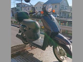 東京都八王子市小門町で無料で引き取りをしたホンダ トゥディ ブラック リアボックス付き