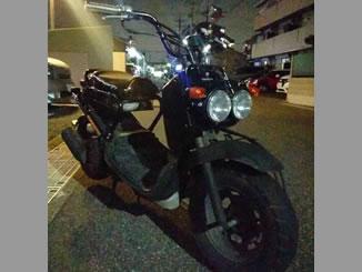 千葉県船橋市薬円台3丁目で無料で引き取りをしたホンダ ズーマー ブラック