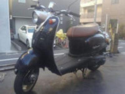 墨田区太平1丁目のヤマハ ビーノ2スト ブラックを無料で引き取りと廃車