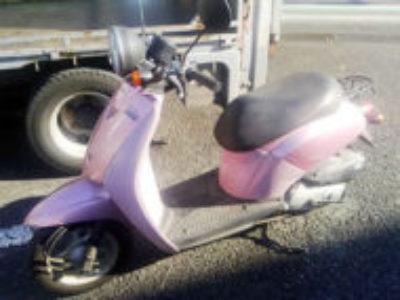 西東京市芝久保町1丁目のホンダ トゥデイ(AF61) ピンクを無料引き取り