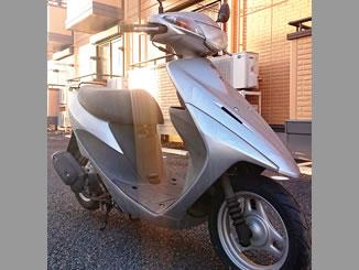 栃木県宇都宮市平出町で無料で引き取りと廃車をしたスズキ アドレスV50 シルバー