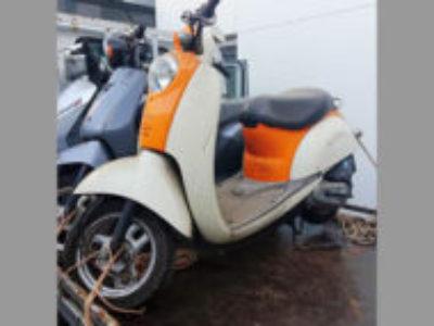 立川市富士見町6丁目で原付バイクのクレアスクーピー オレンジを無料で引き取り