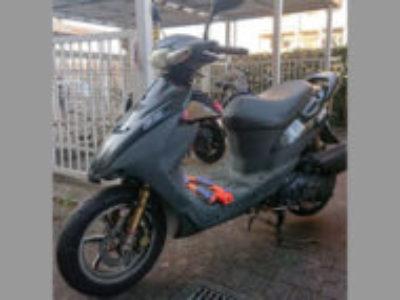 八王子市上柚木3丁目で原付バイクのスズキ ZZ を無料で引き取り処分