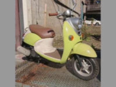 荒川区東尾久6丁目で原付バイクのヤマハ ビーノ4サイクル イエローを無料で引き取り処分