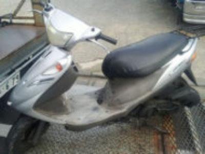 江戸川区篠崎町4丁目の原付バイク アドレスV125Gを無料で引き取り処分
