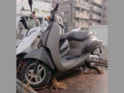 足立区青井4丁目の原付バイク クレアスクーピー DXを無料で引き取りと廃車