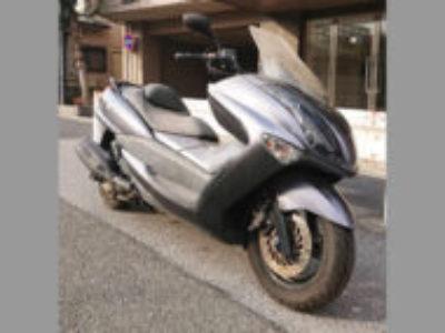 葛飾区東水元2丁目で250ccバイクのマジェスティ250 グレーを無料で引き取り処分