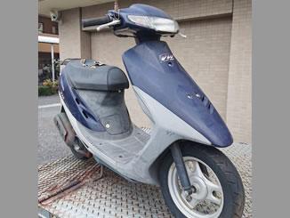 東京都稲城市東長沼で無料で引き取りと廃車をしたホンダ スーパーDio ネイビーブルー
