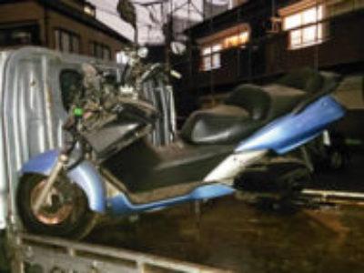 千葉市花見川区朝日ケ丘2丁目でシルバーウイング400 ブルーを無料で引き取り処分