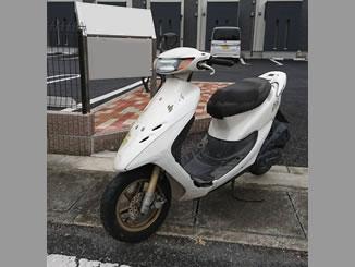 熊谷市上恩田で無料で引き取りと廃車をしたホンダ ライブDio ZX ホワイト