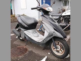 神奈川県藤沢市湘南台2丁目で無料で引き取りと廃車をしたホンダ スマートDio ブラック