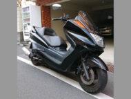 渋谷区広尾で無料で引き取り処分と廃車手続き代行をした250ccバイクのヤマハ マジェスティC