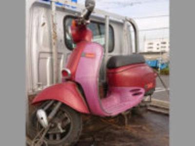 千葉市稲毛区山王町でホンダ ジュリオDX ワインレッドを無料で引き取りと廃車