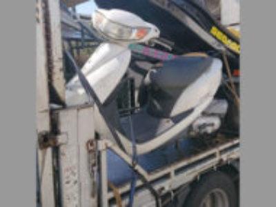府中市栄町3丁目のDio/JBH-AF68 パールキャンサーホワイトを無料で引き取り処分