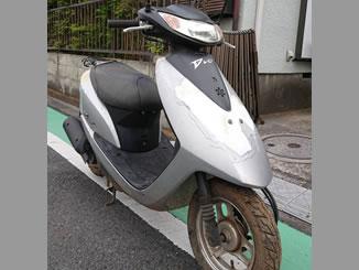 埼玉県八潮市緑町で無料で引き取りと廃車をしたホンダ Dio シグマシルバーメタリック