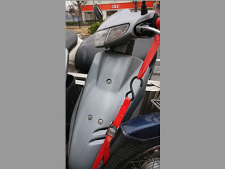 東京都八王子市滝山町1丁目で無料で引き取りと廃車をしたホンダ スーパーDio シルバー