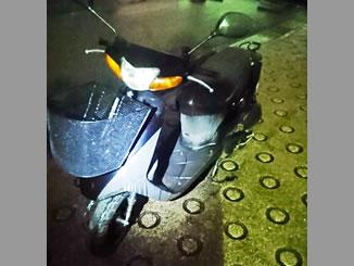神奈川県横浜市緑区鴨居町で無料で引き取りと廃車をしたスズキ レッツ2 ブラック 前カゴ付き