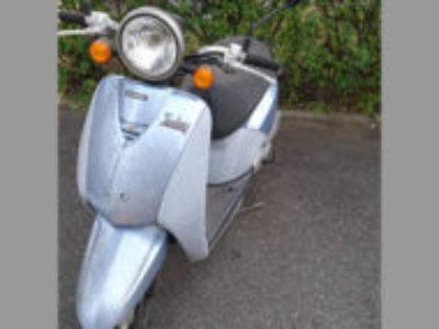 国立市富士見台1丁目で原付バイクのホンダ トゥデイ シリウスブルーを無料引き取り処分