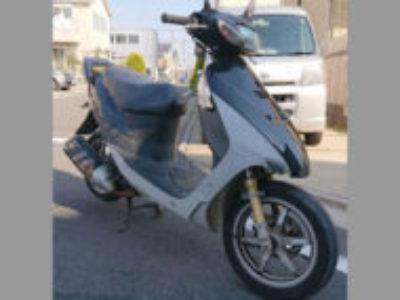 足立区花畑4丁目で原付バイクのZZを無料で引き取りと廃車