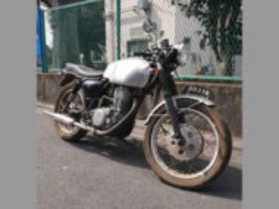 世田谷区鎌田2丁目で400ccバイクのSR400 カスタム車を無料で引き取り