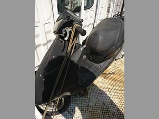 埼玉県朝霞市北原2丁目で無料で引き取りと廃車をしたホンダ Dio FI パールプロキオンブラック