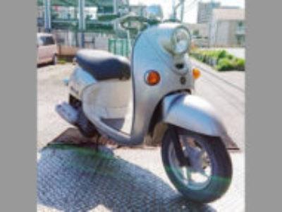 市川市鬼高2丁目の原付バイク ビーノDX/4ストを無料引き取りと処分