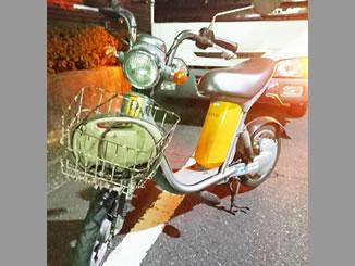 板橋区四葉1丁目で無料で引き取りと廃車をしたヤマハ 電動パッソル オレンジ
