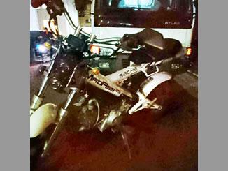 川口市弥平1丁目で無料で引き取りと廃車をしたザックス マダス125 ホワイト