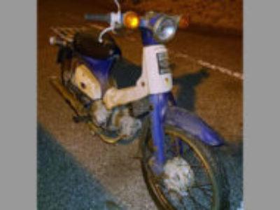 浦安市美浜1丁目で原付バイクのプレスカブ50を無料で引き取りと処分