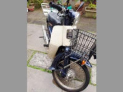 横浜市旭区西川島町の原付バイク プレスカブ50を無料引き取り処分と廃車
