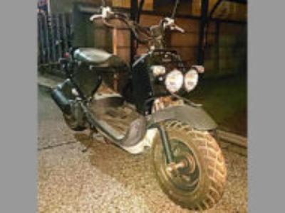 柏市豊四季で原付バイクのズーマーを無料で引き取りと廃車