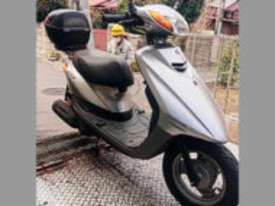 練馬区石神井台4丁目で原付バイクのJOGを無料で引き取り処分と廃車