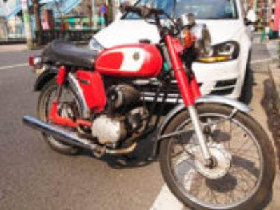 世田谷区世田谷3丁目で原付バイクのYB-1を無料で引き取り処分