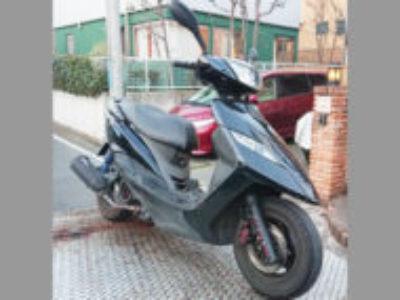 横浜市青葉区黒須田で125ccバイクのGTR125を無料で引き取り処分