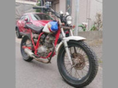 板橋区徳丸1丁目の223ccバイク FTR223を無料引き取りと廃車