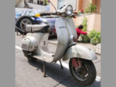 世田谷区上用賀6丁目の原付バイク ベスパ125 ET3を無料で引き取り処分