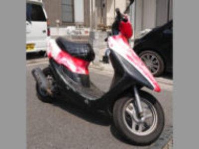 八王子市上柚木の原付バイク ホンダ ライブDio カギ無しを無料で引き取り処分