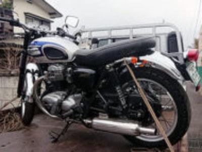 宇都宮市鶴田町で大型バイク カワサキ W650を無料引き取り処分